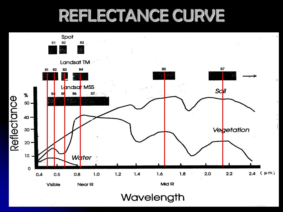 REFLECTANCE CURVE