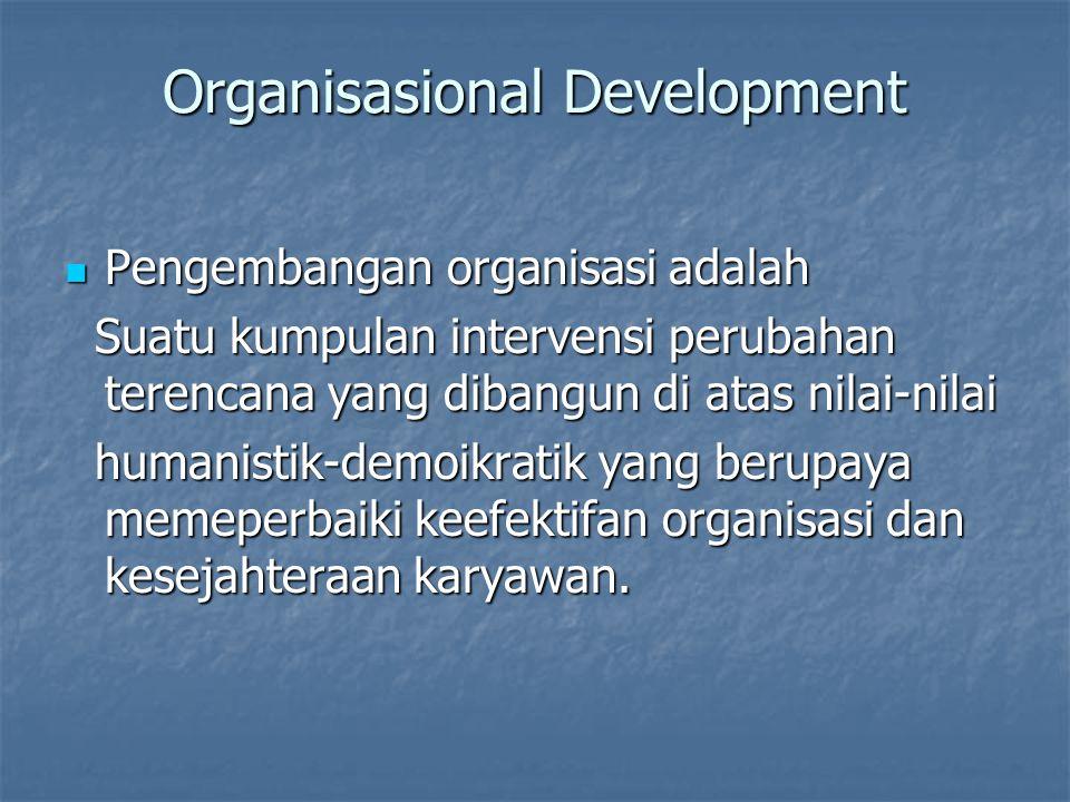 Organisasional Development