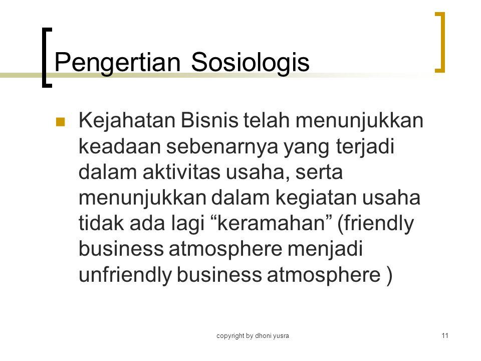 Pengertian Sosiologis