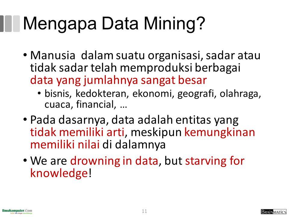 romi@romisatriawahono.net Object-Oriented Programming. Mengapa Data Mining