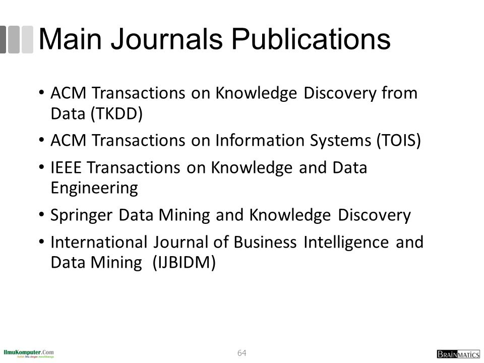Main Journals Publications