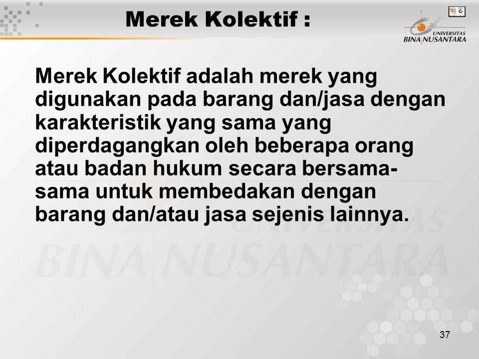 Merek Kolektif :