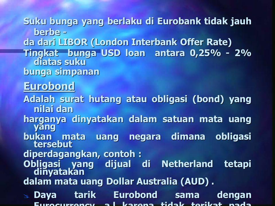 Eurobond Suku bunga yang berlaku di Eurobank tidak jauh berbe -