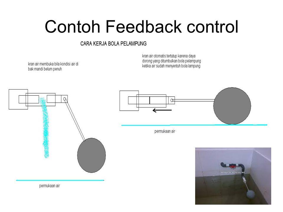 Contoh Feedback control