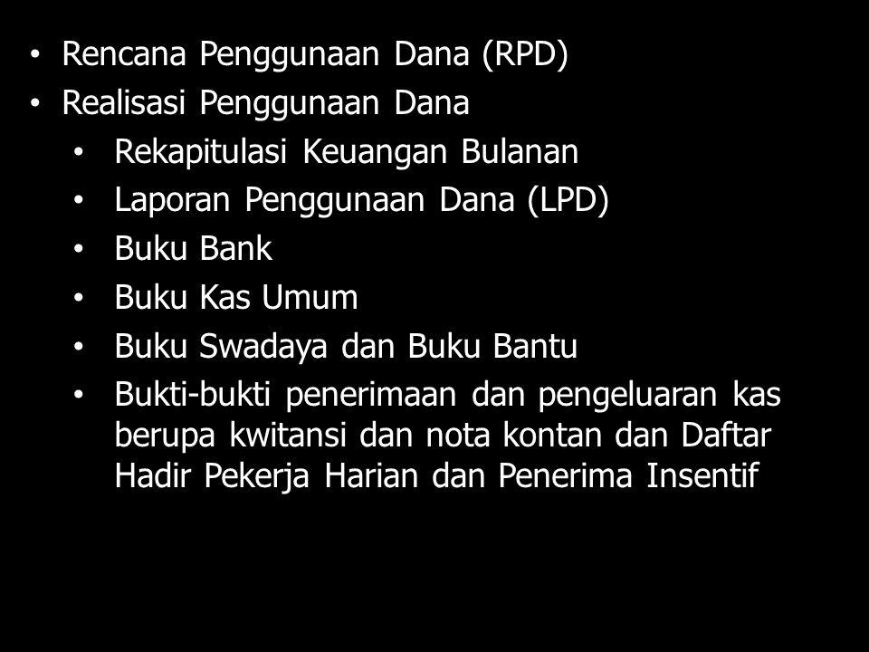 Rencana Penggunaan Dana (RPD)