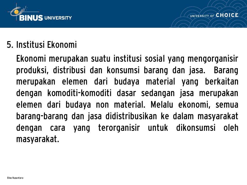 Institusi Ekonomi