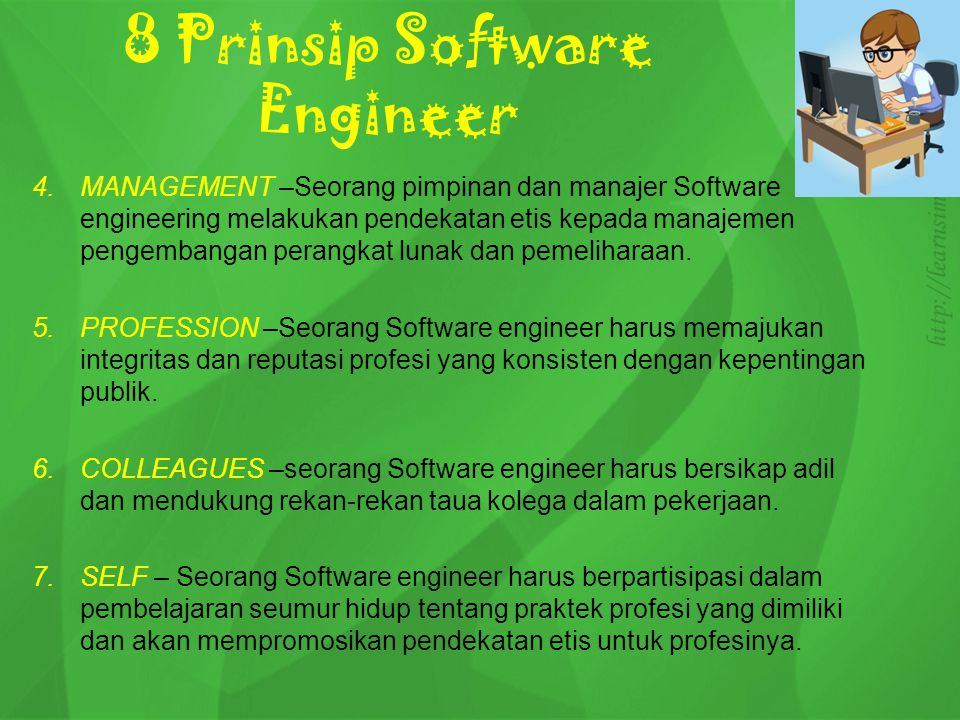 8 Prinsip Software Engineer