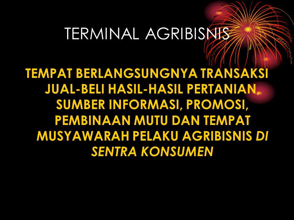 TERMINAL AGRIBISNIS