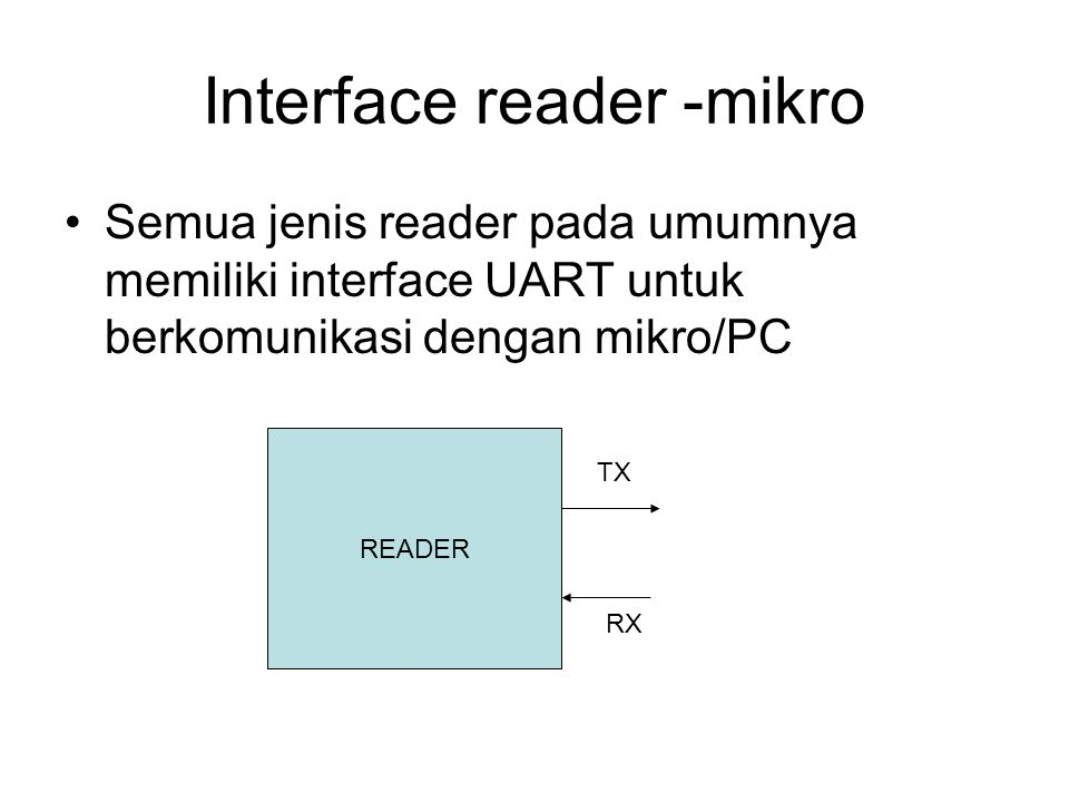 Interface reader -mikro