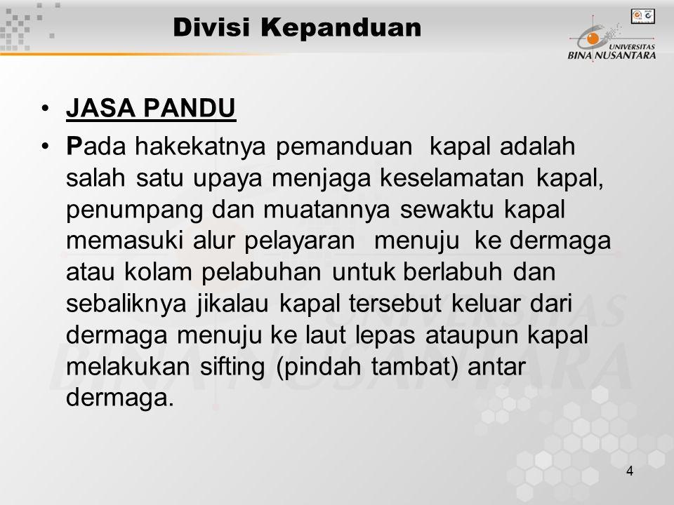Divisi Kepanduan JASA PANDU.
