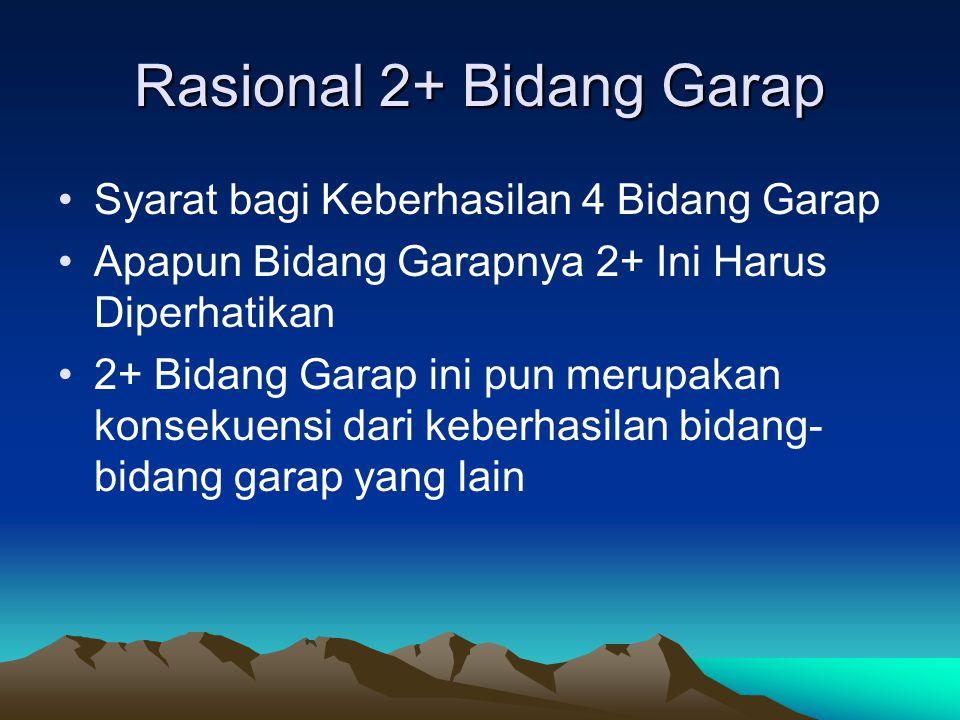 Rasional 2+ Bidang Garap
