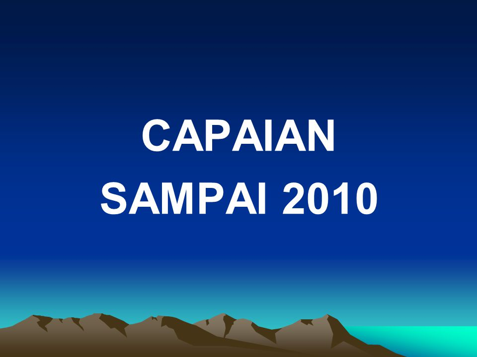 CAPAIAN SAMPAI 2010