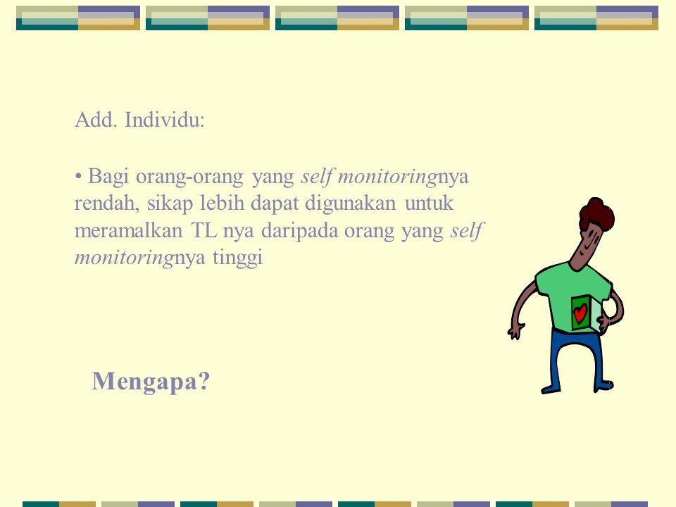 Add. Individu: