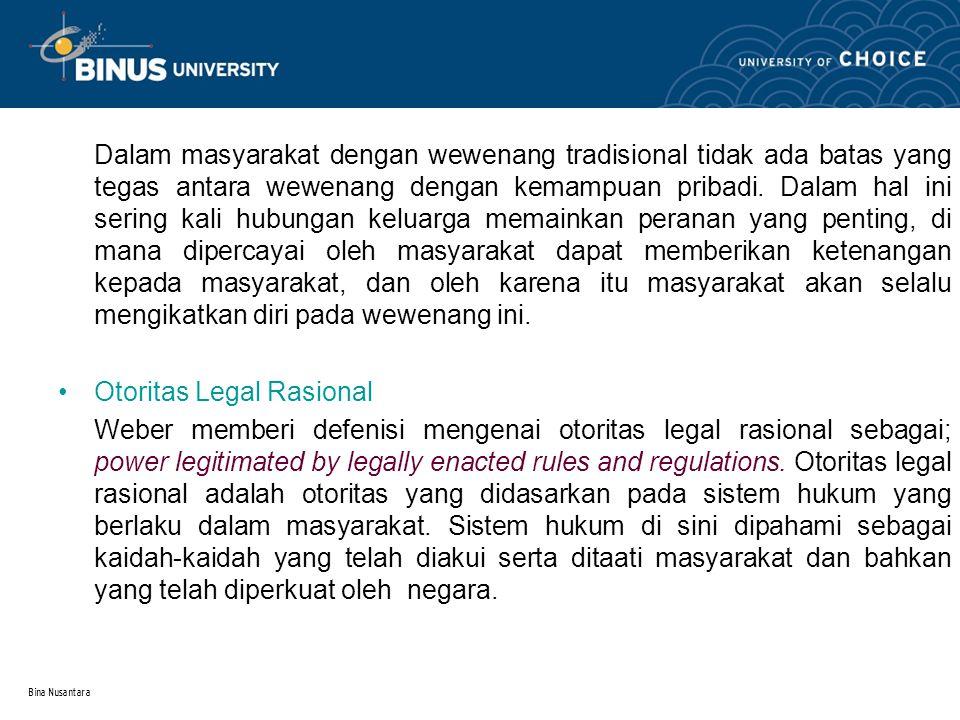 Otoritas Legal Rasional