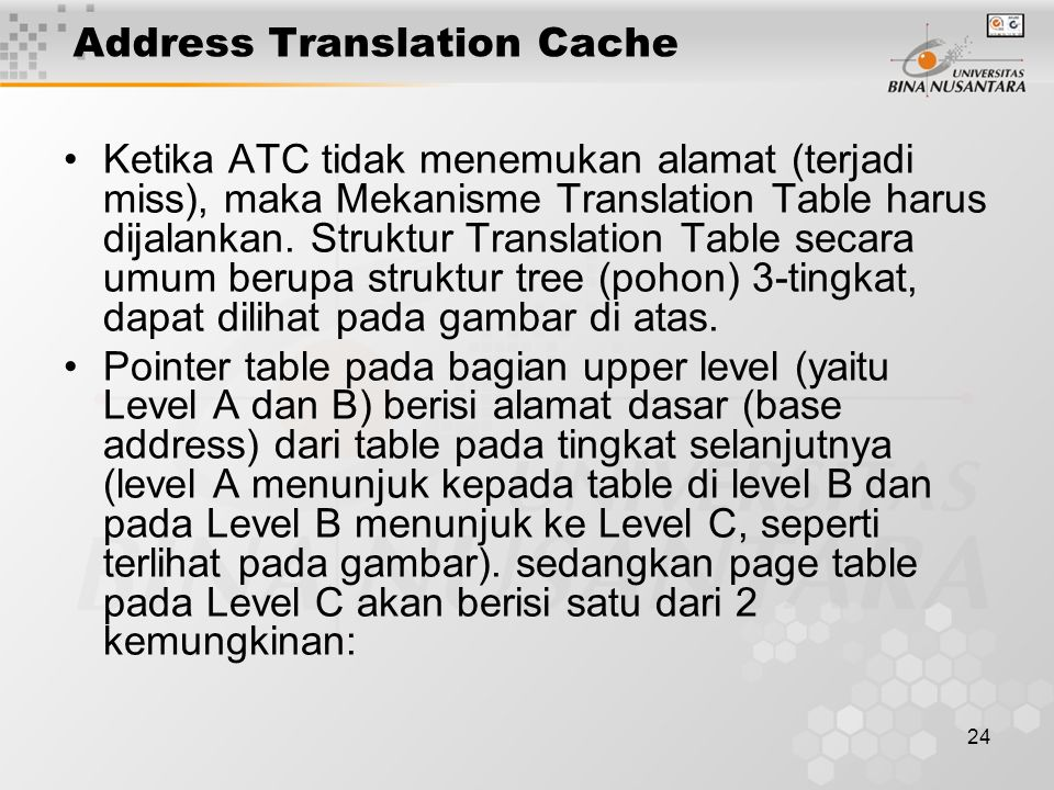 Address Translation Cache