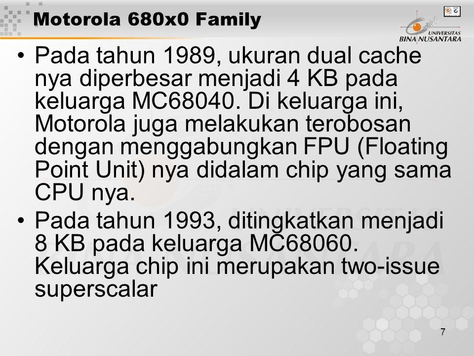 Motorola 680x0 Family