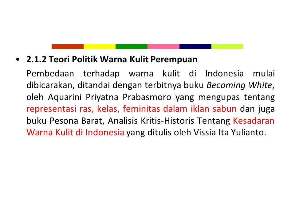 2.1.2 Teori Politik Warna Kulit Perempuan