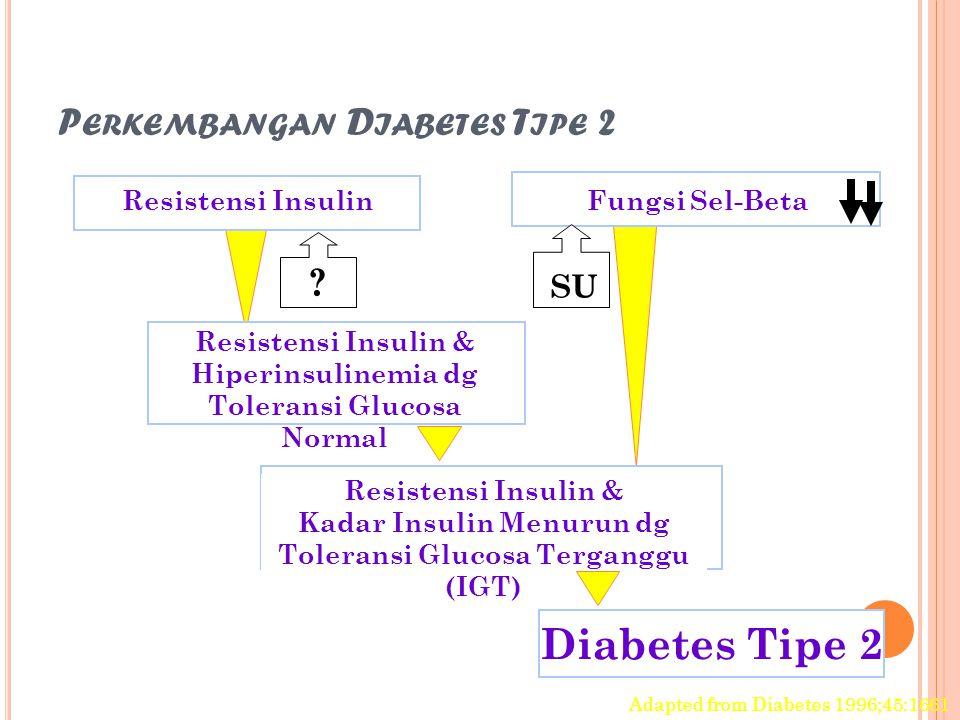 Perkembangan Diabetes Tipe 2