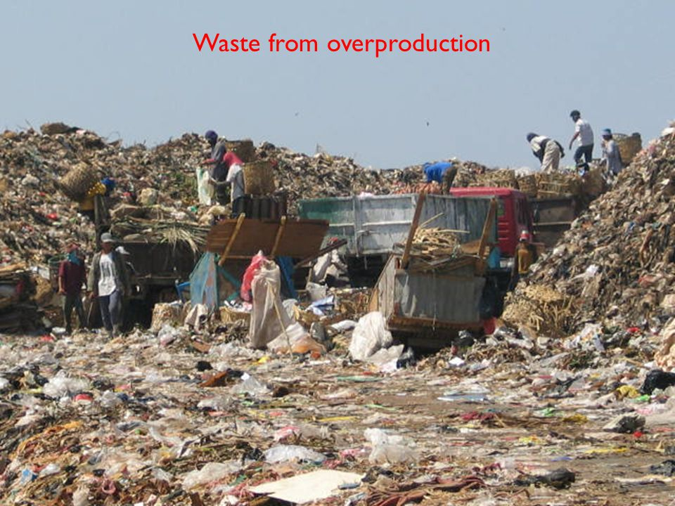 Waste from overproduction