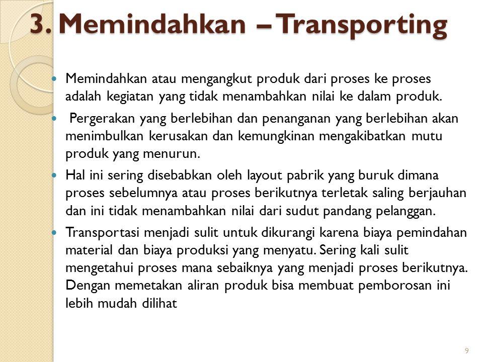 3. Memindahkan – Transporting
