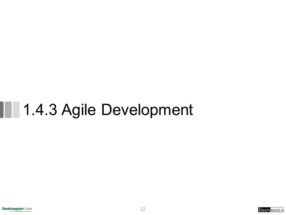 1.4.3 Agile Development