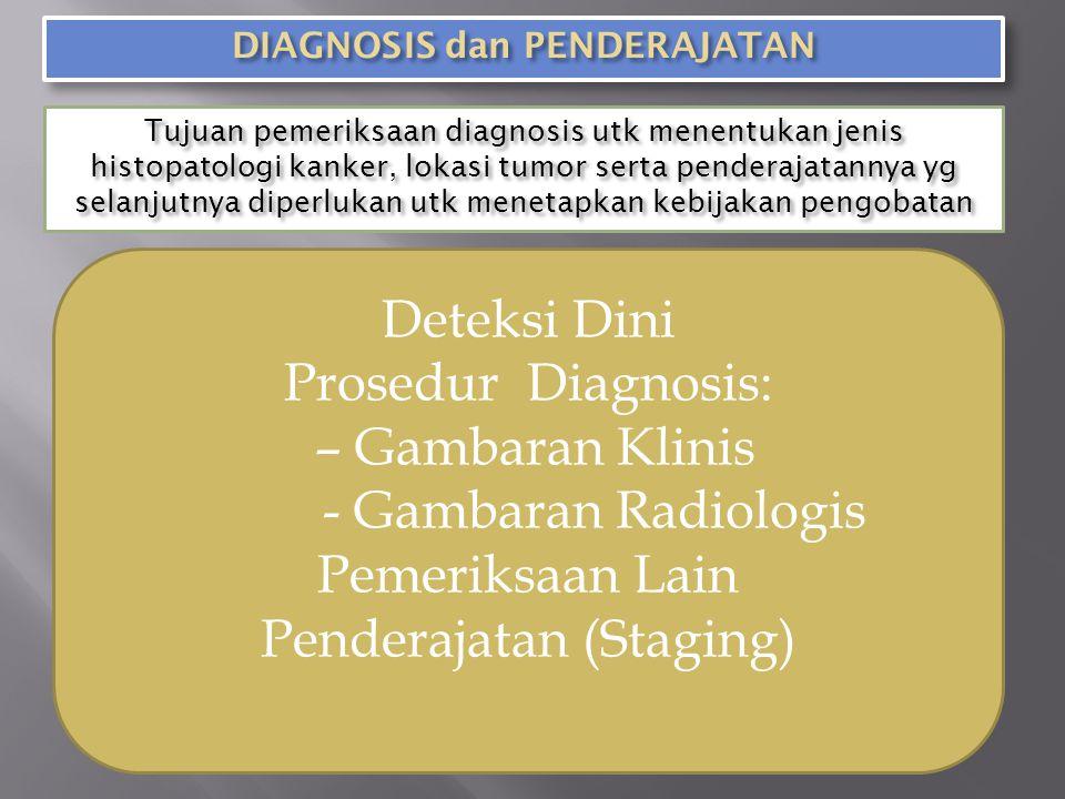 DIAGNOSIS dan PENDERAJATAN