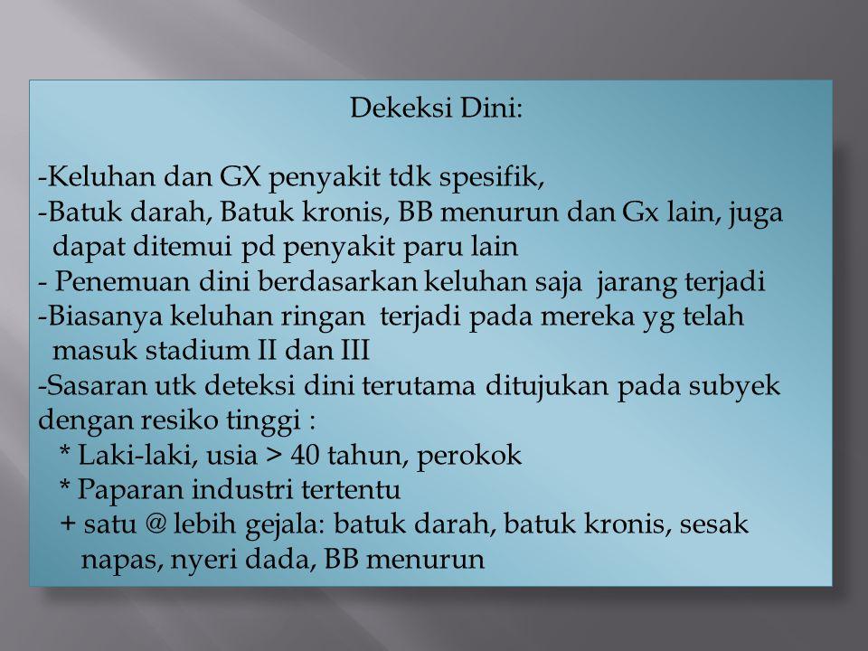 Keluhan dan GX penyakit tdk spesifik,