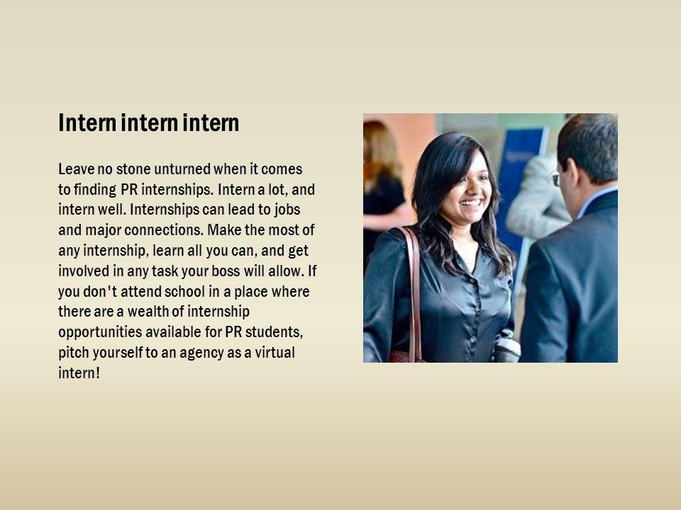 Intern intern intern