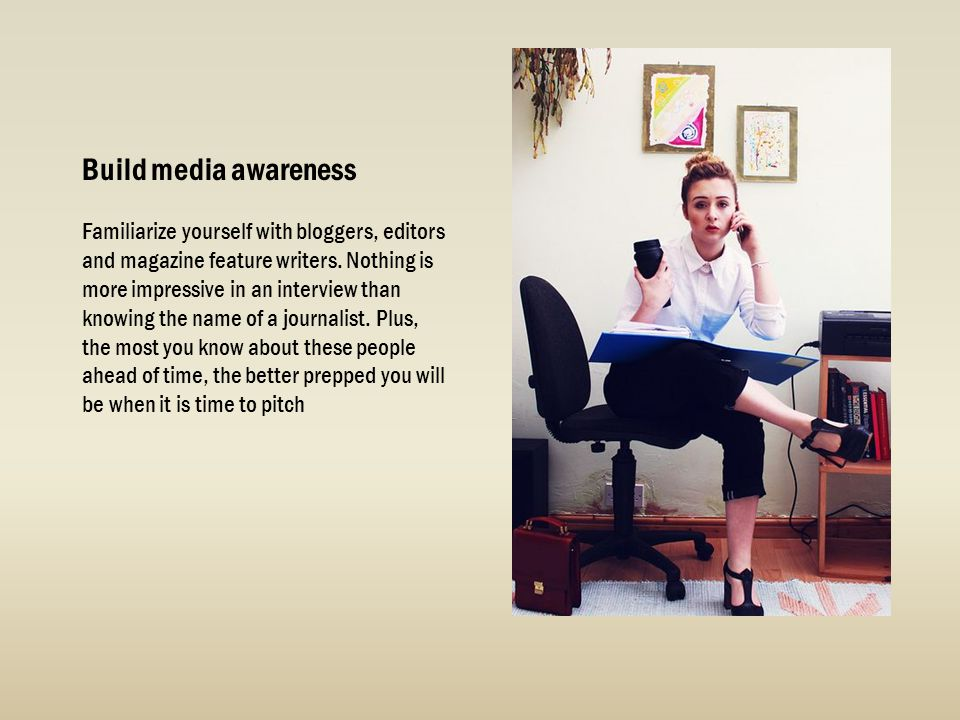 Build media awareness
