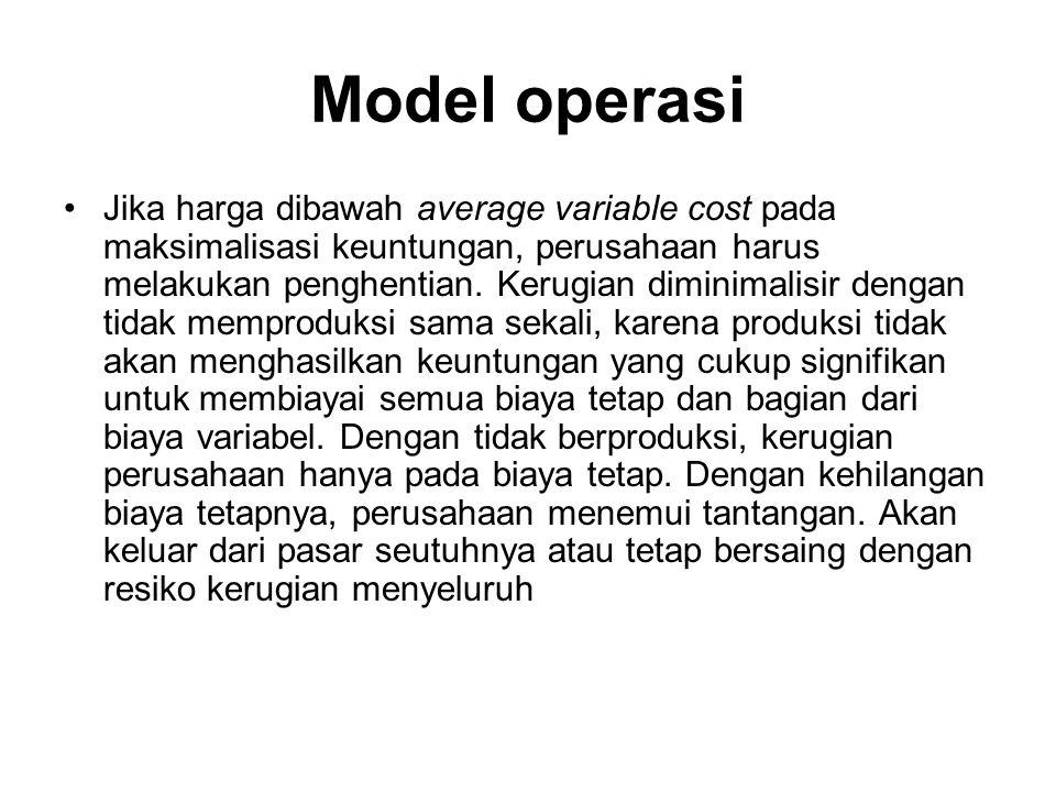 Model operasi