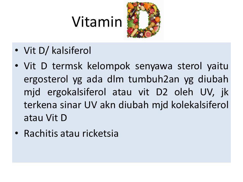 Vitamin Vit D/ kalsiferol