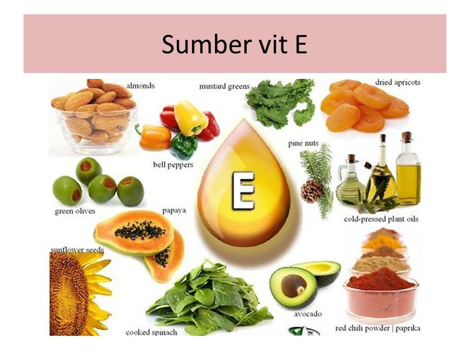 Sumber vit E