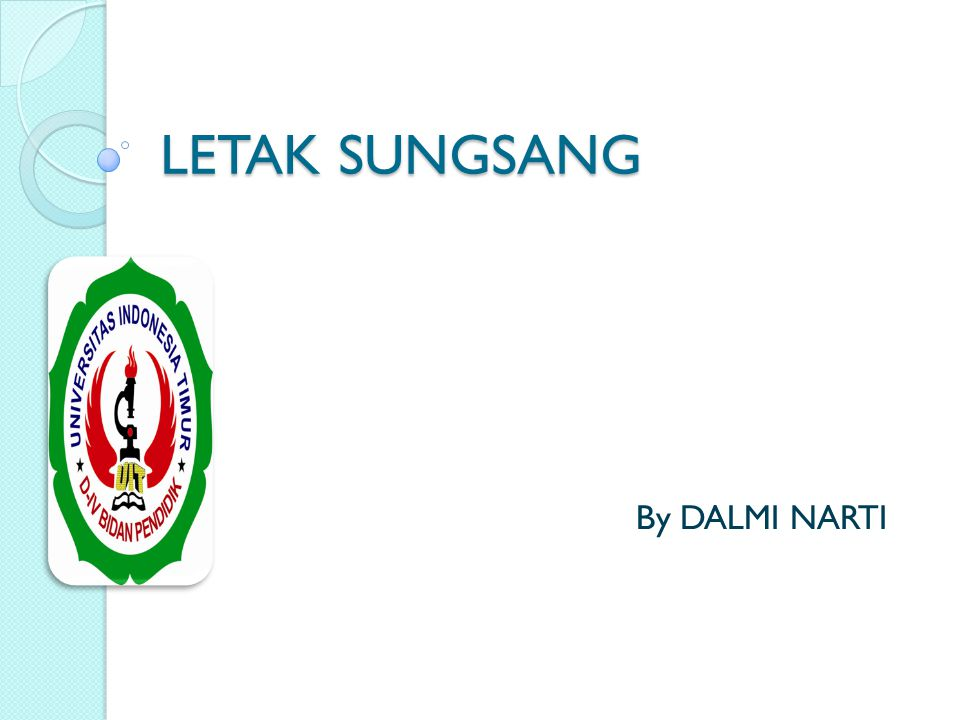 LETAK SUNGSANG By DALMI NARTI