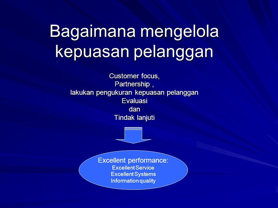 Bagaimana mengelola kepuasan pelanggan