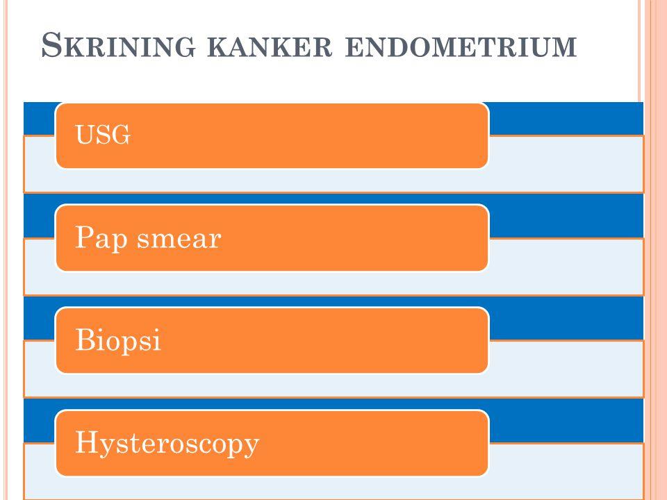 Skrining kanker endometrium