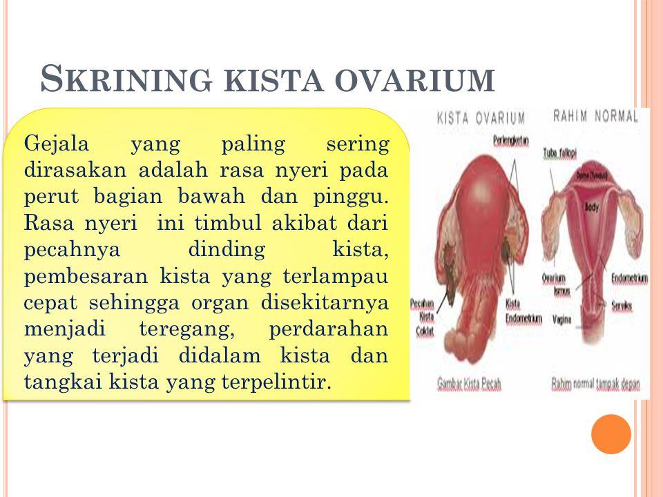 Skrining kista ovarium