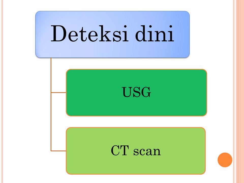 Deteksi dini USG CT scan