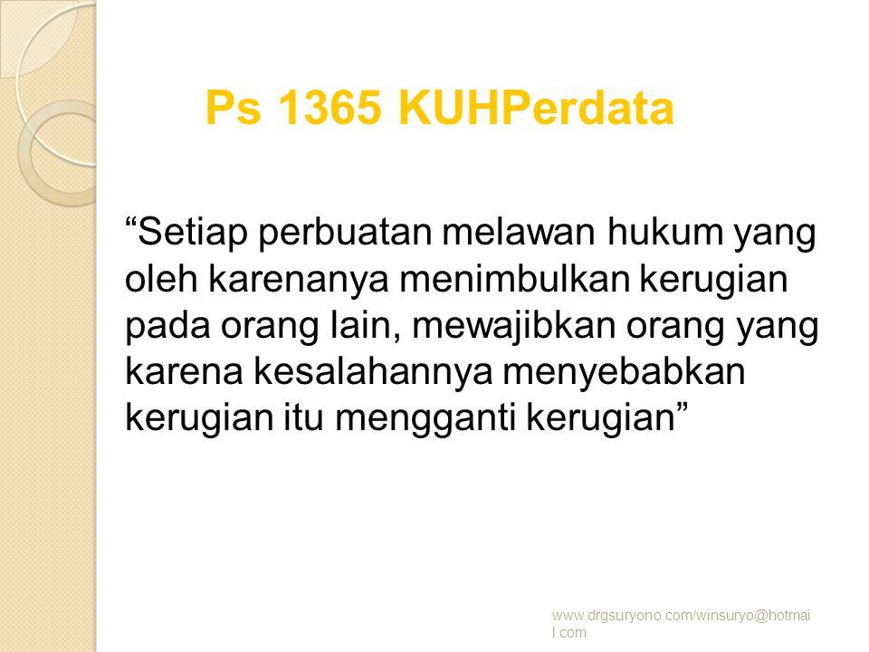 Ps 1365 KUHPerdata