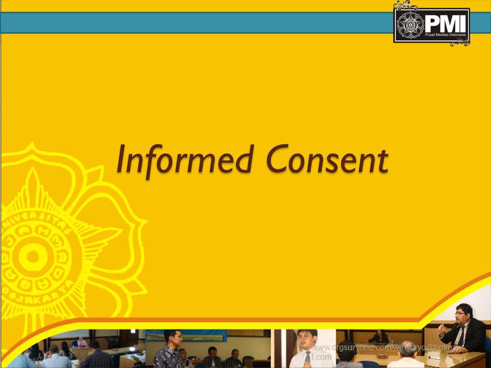 Informed Consent www.drgsuryono.com/winsuryo@hotmail.com