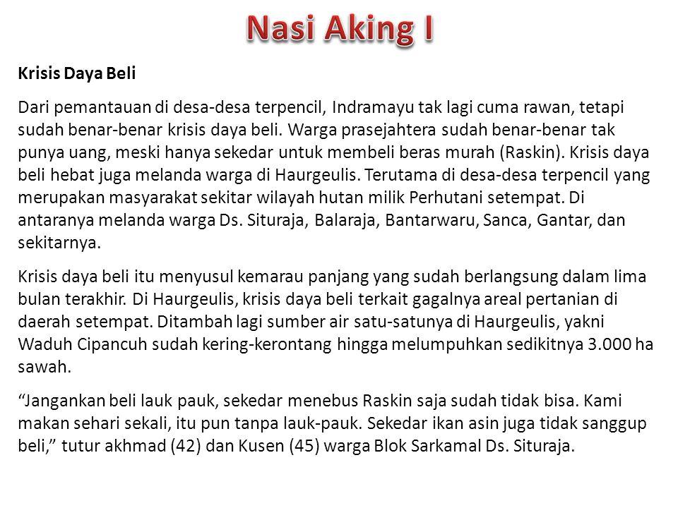 Nasi Aking I