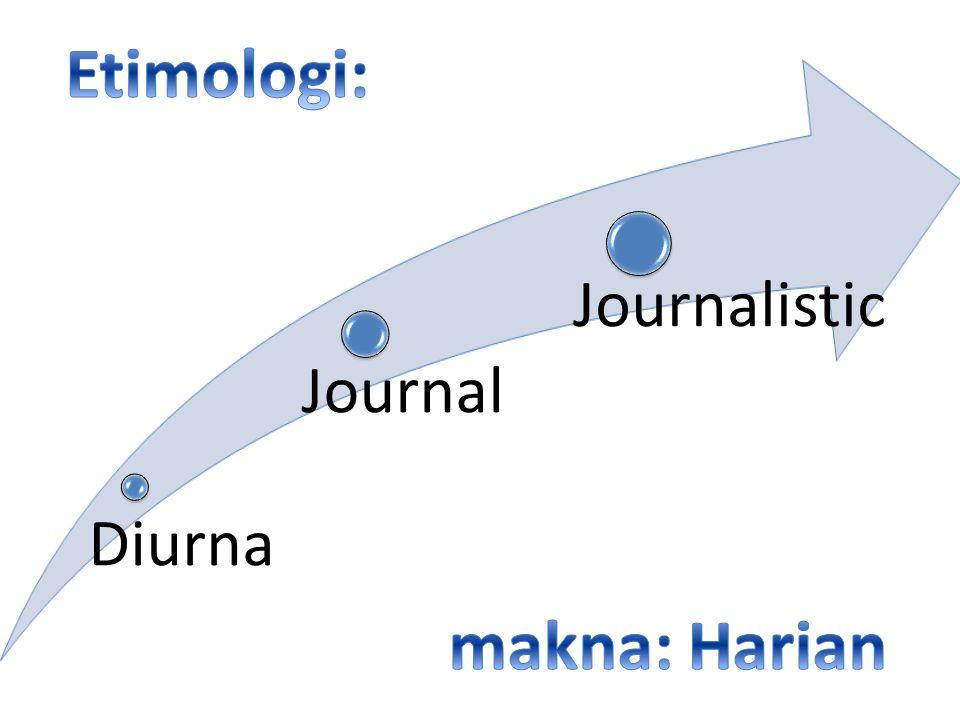 Etimologi: makna: Harian