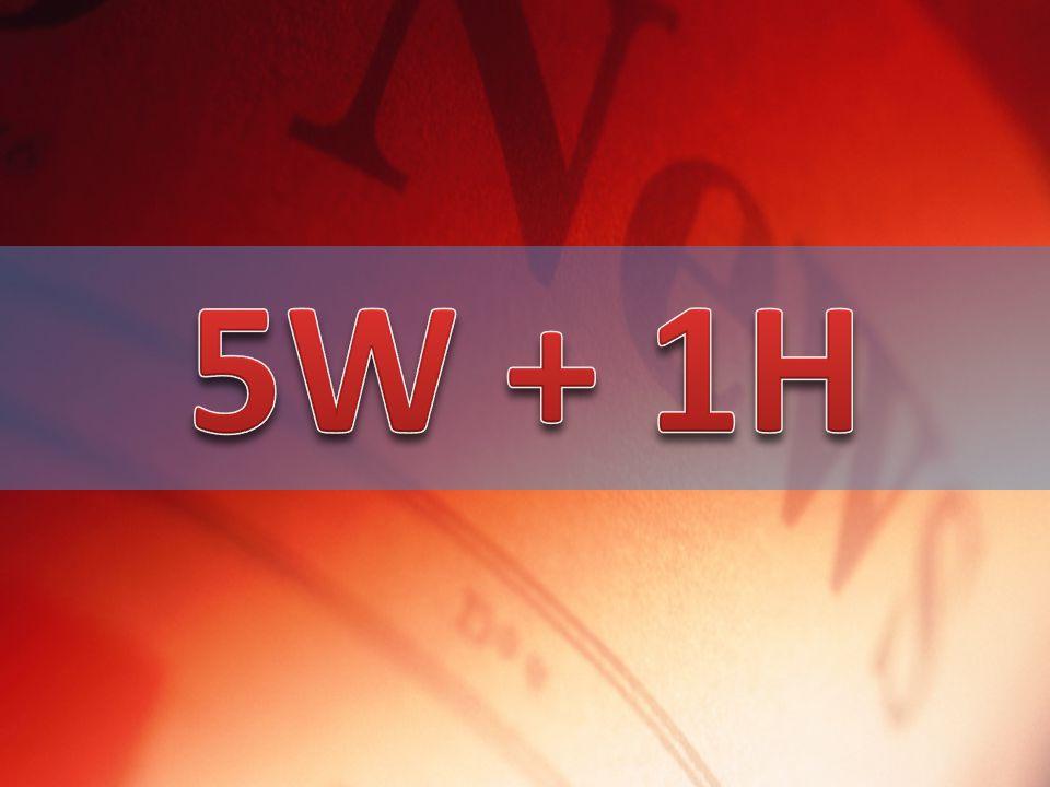 5W + 1H