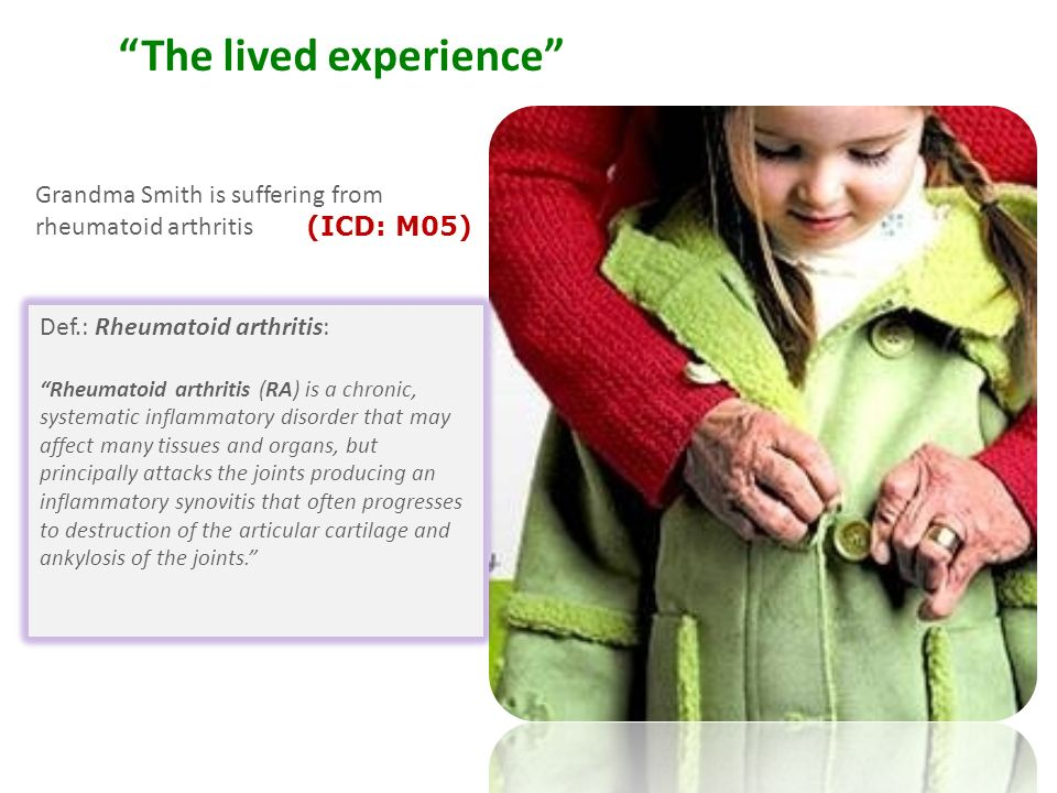 The lived experience