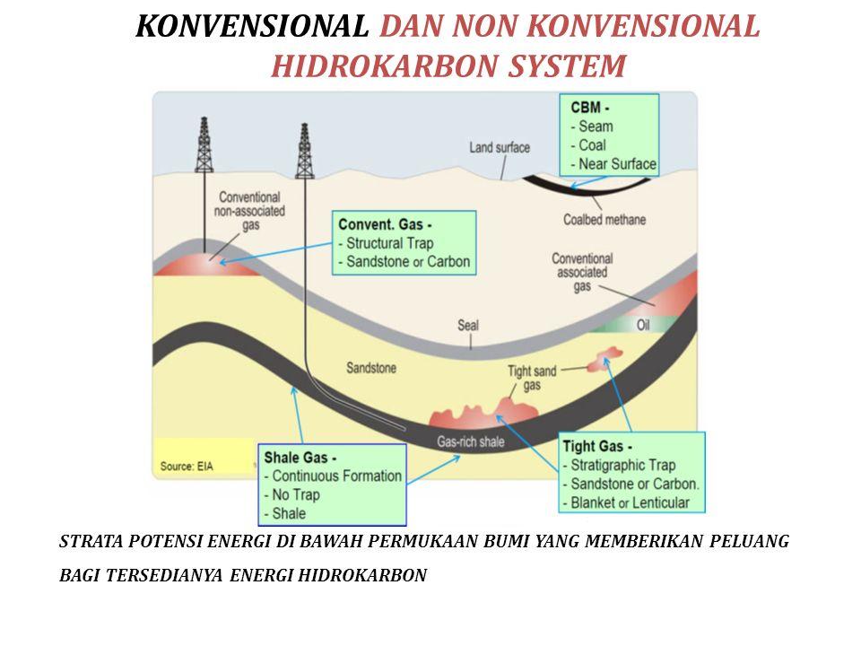 KONVENSIONAL DAN NON KONVENSIONAL HIDROKARBON SYSTEM