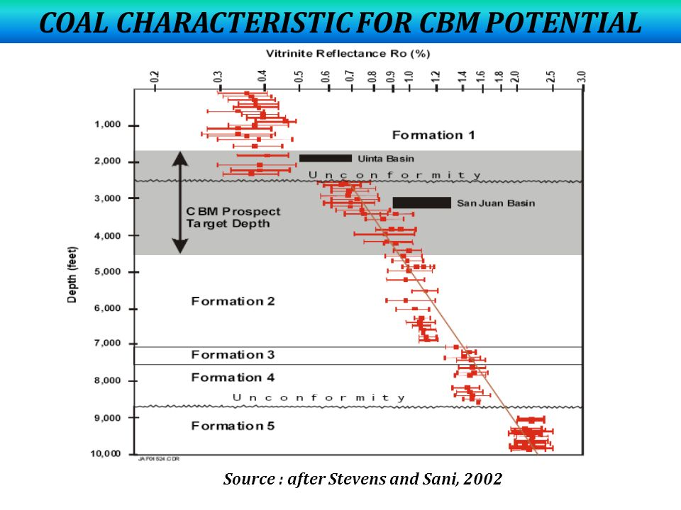 COAL CHARACTERISTIC FOR CBM POTENTIAL