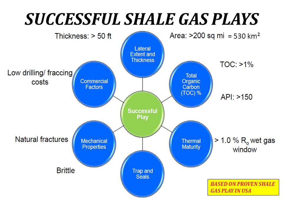 SUCCESSFUL SHALE GAS PLAYS