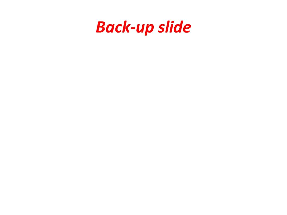 Back-up slide