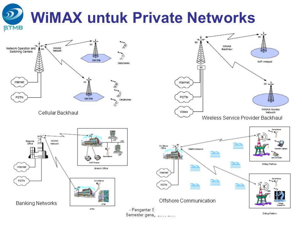 WiMAX untuk Private Networks