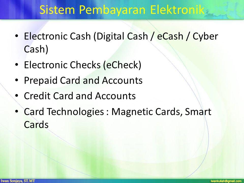 Sistem Pembayaran Elektronik