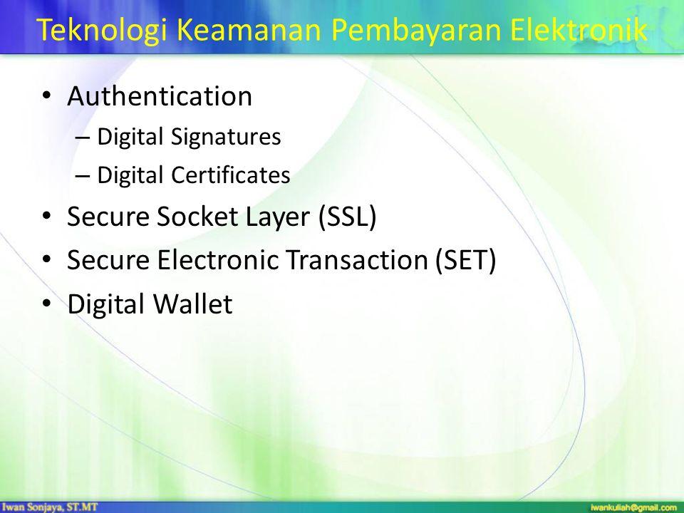 Teknologi Keamanan Pembayaran Elektronik
